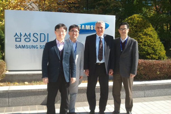 Dr. Anderman at Samsung